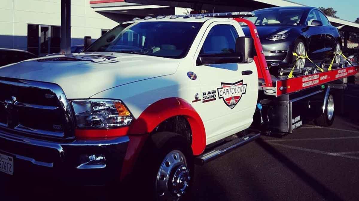 Sacramento Towing Service – Capitol City Towing -Towing